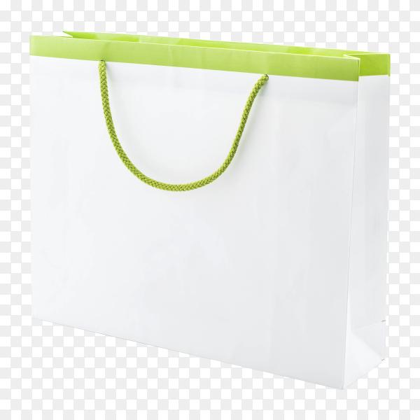 White shopping bag transparent PNG