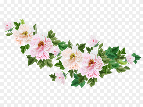 Blooming spring flower Clipart PNG