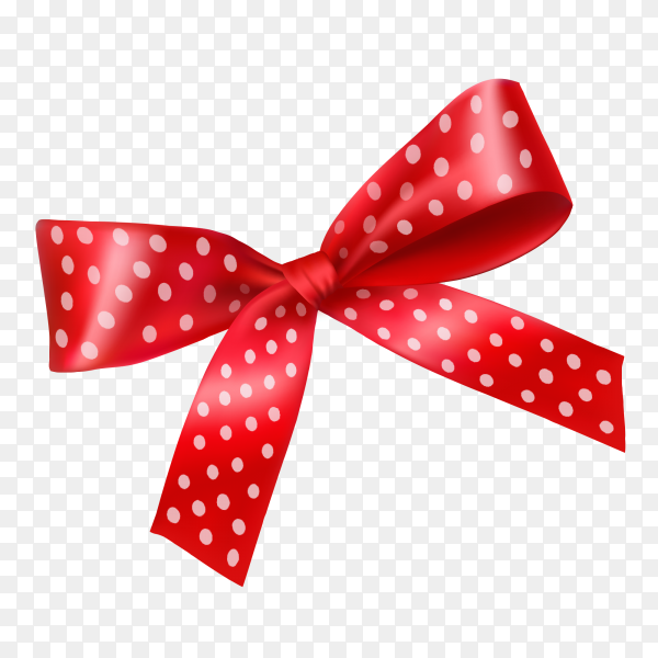 Cute red ribbons and bows Clipart PNG