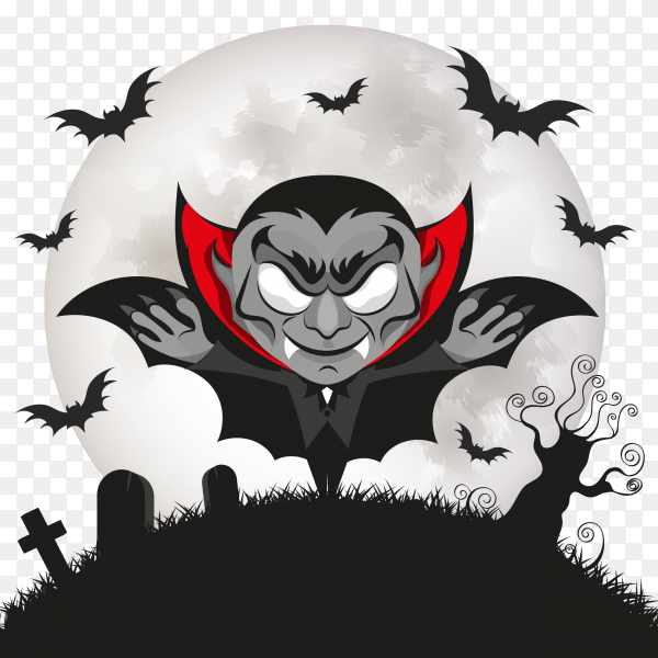 Dracula vampire halloween scary Clipart PNG - Similar PNG
