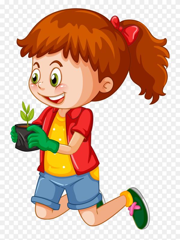 Gair Gardening Cartoon Premium Vector Png Similar Png