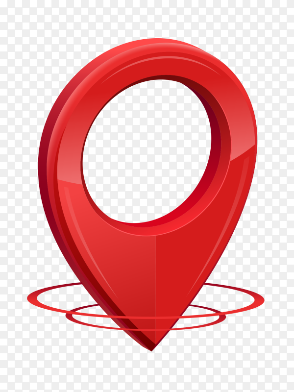 gps icon 3d red color location clipart png similar png gps icon 3d red color location clipart