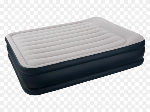 Air mattress on transparent background PNG