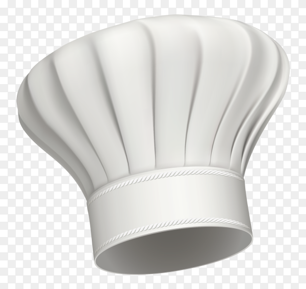 Chef hat icon isolate on transparent background PNG