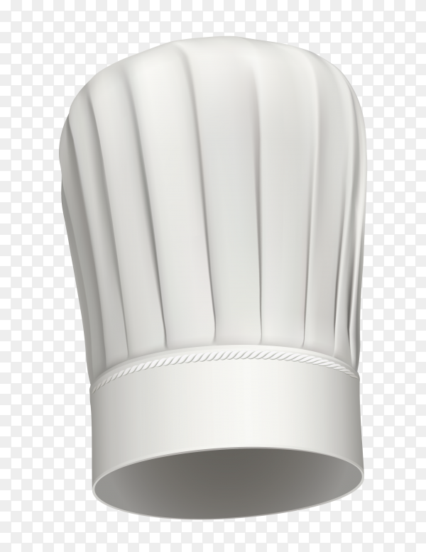 Chef hat icon isolated Clipart PNG