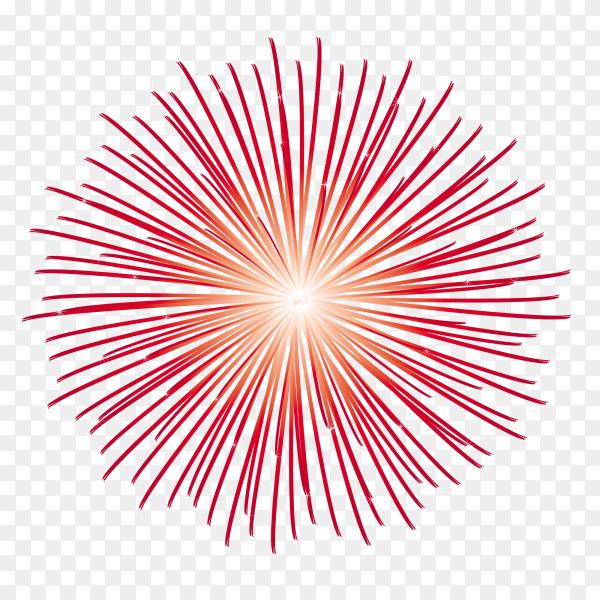 Fireworks sparks pn transparent background PNG