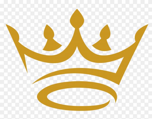 Gold Crown Icon Vector Png Similar Png