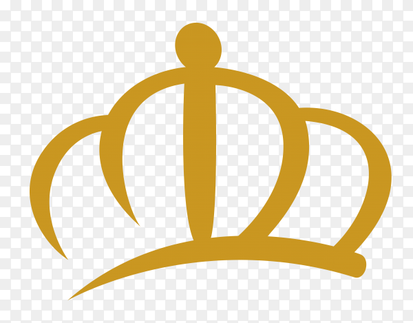 Kings crown Premium vector PNG
