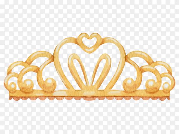 Princess crowns vector PNG