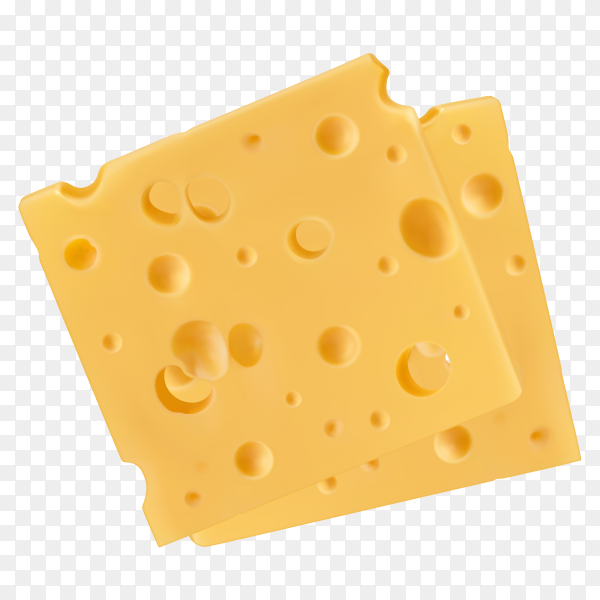 Tasty cheese on transparent background PNG