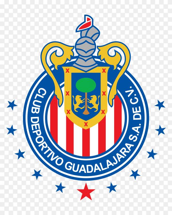 C.d guadalajara club Premium vector PNG