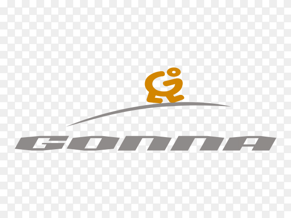 Conna Logo design Premium vector PNG