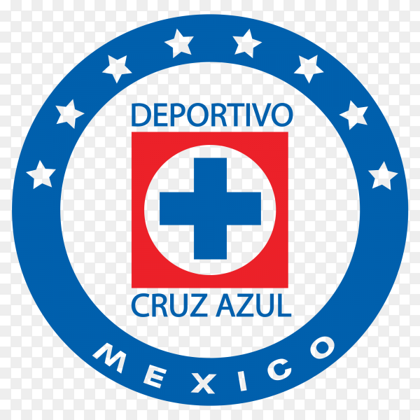Deportivo veracruz club logo on transparent background PNG