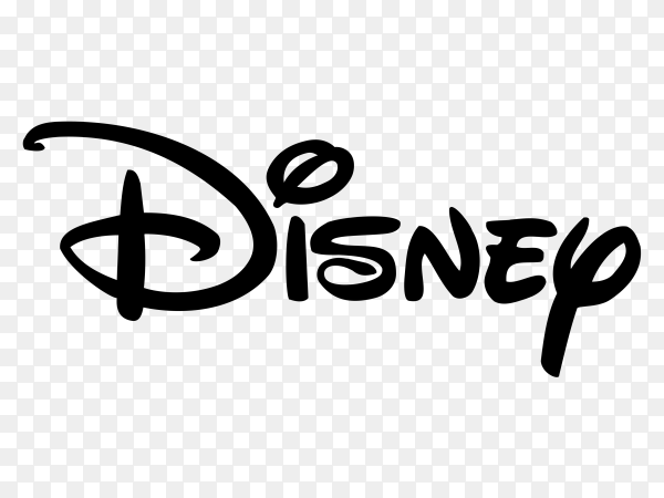Disney logo on transparent background PNG