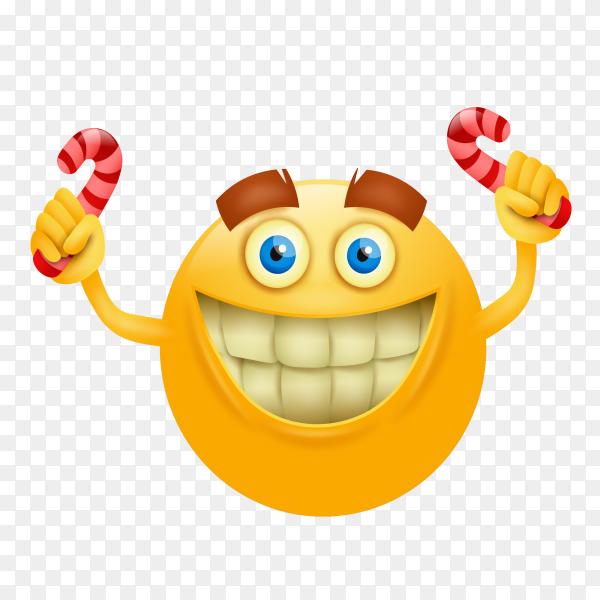 Happy emoji face vector PN