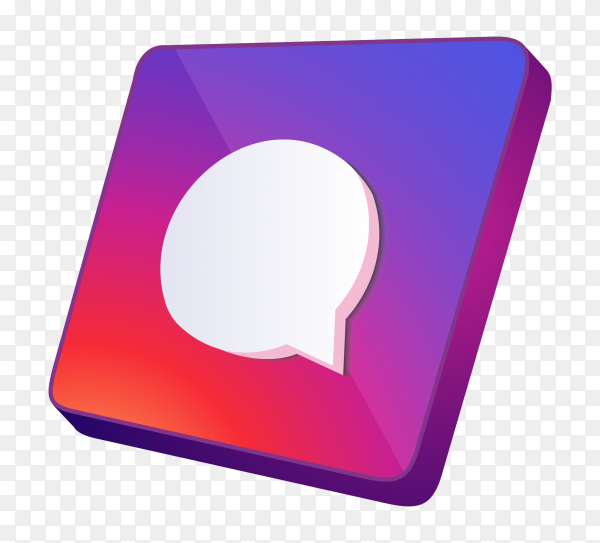 3D Massage icon on transparent background PNG