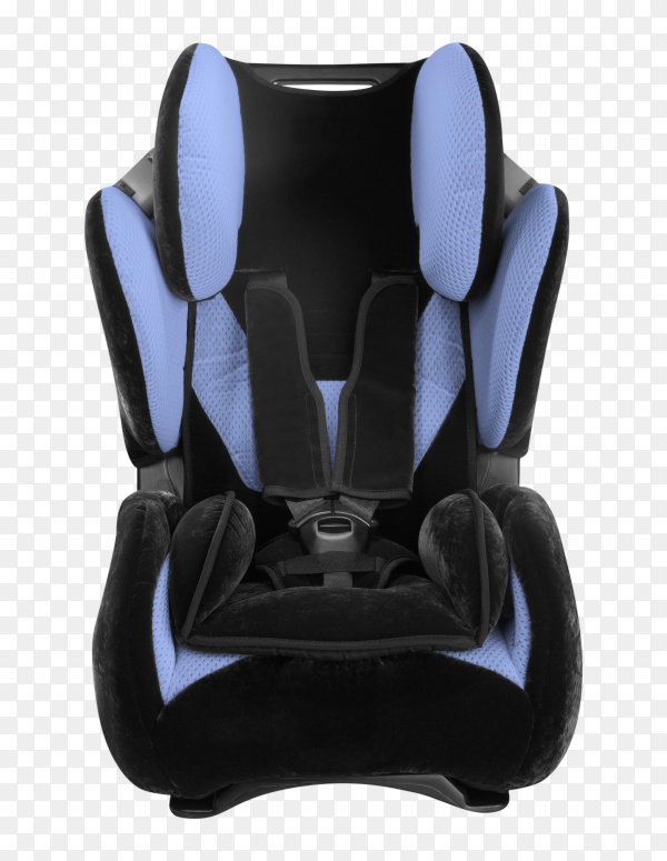 Baby car seat on transparent background PNG