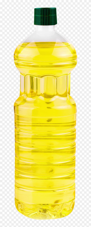 Bottle sunflower oil isolated clipart PNG