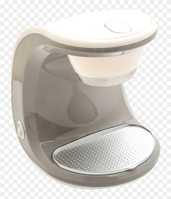 Coffee maker machine on transparent background PNG