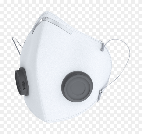 Doctor mask isolated on transparent  PNG