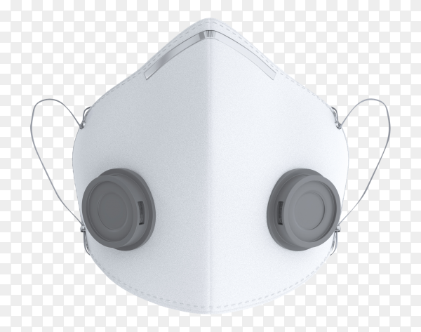 Doctor mask isolated on transparent background PNG