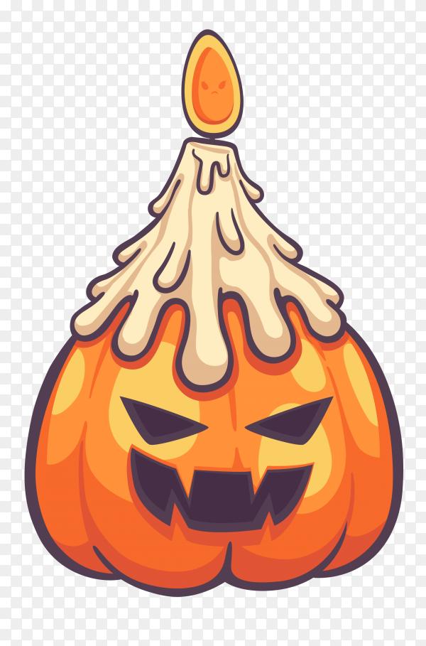 Halloween pumpkin clipart PNG