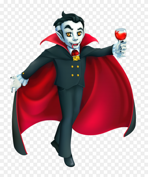 Happy halloween character on transparent background PNG