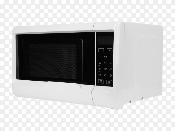 Microwave oven isolated premium vector PNG