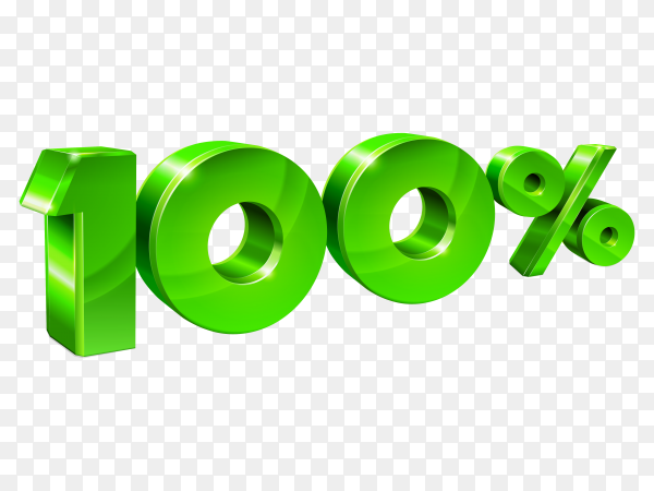 Sale 100 % off on transparent background PNG