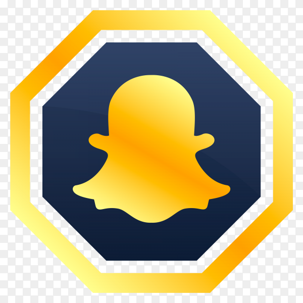 Snapcaht icon premium vector PNG