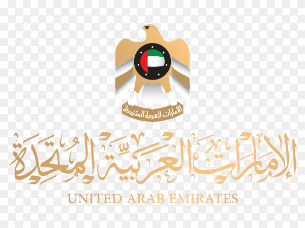 United Arab Emirates Design on transparent background PNG
