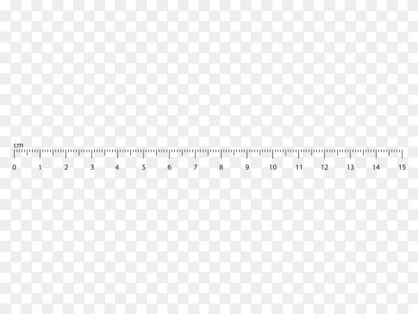 White Measure tape ruler on transparent background PNG
