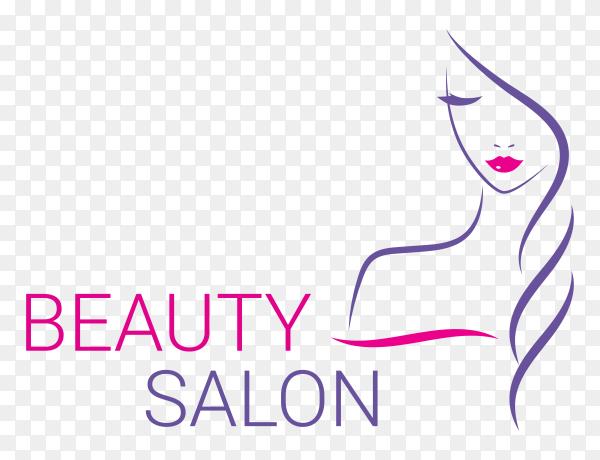 Beauty salon logo design premium vector PNG