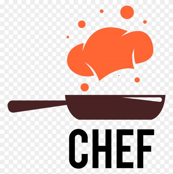 Chef logo design premium vector PNG