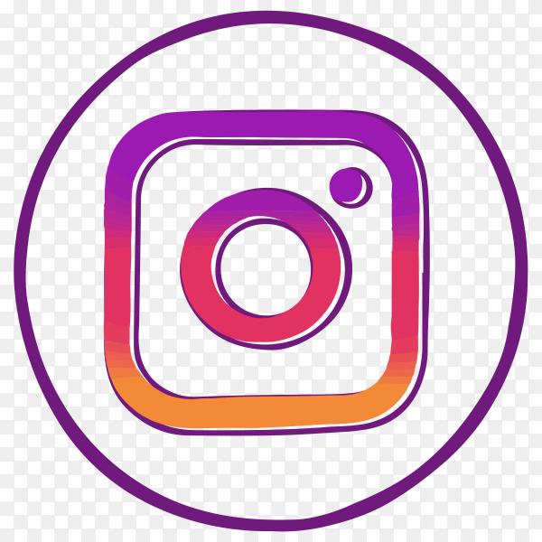 Instagram logo illustration Clipart PNG