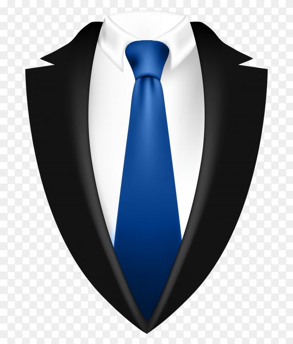 Suit logo on transparent background PNG