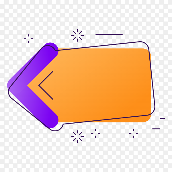 Cashback label isolated premium vector PNG