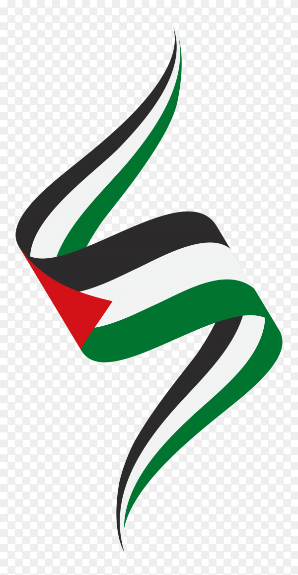 Flag of Palestine Clipart PNG