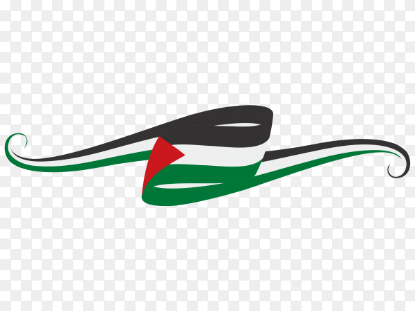 Flag of Palestine Symbol Clipart PNG