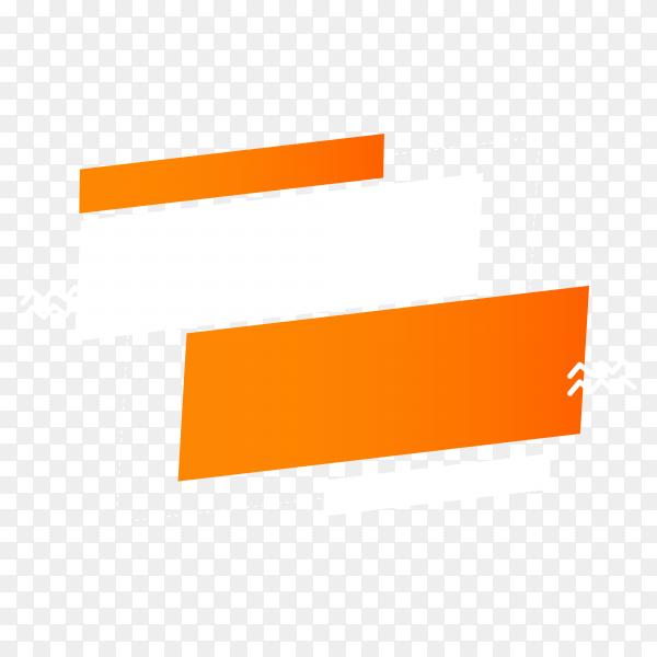 Illustration of sale banner design on transparent background PNG