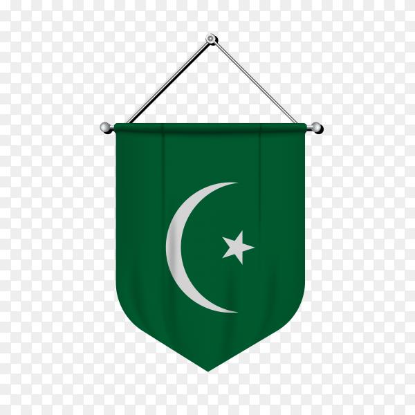 Flag of Mauritania premium vector PNG