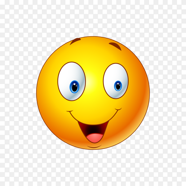 Frowning Face with Open Mouth Emoji on transparent background PNG