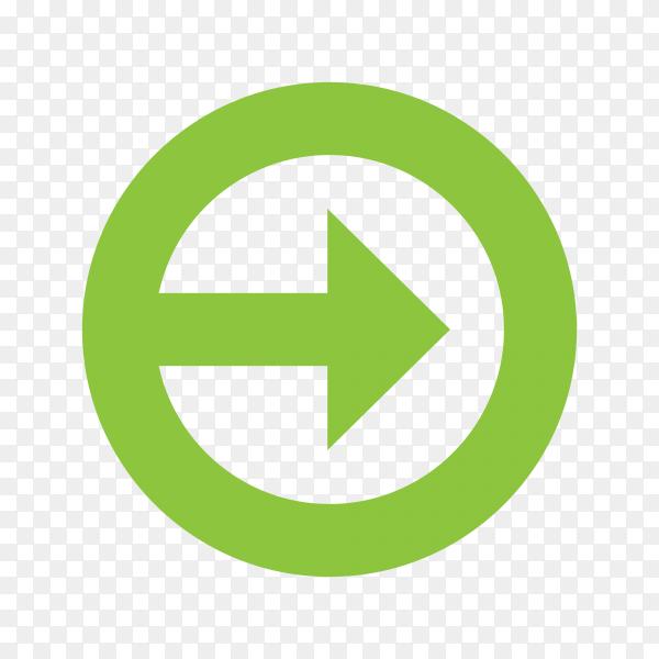Illustration of arrow design premium vector PNG
