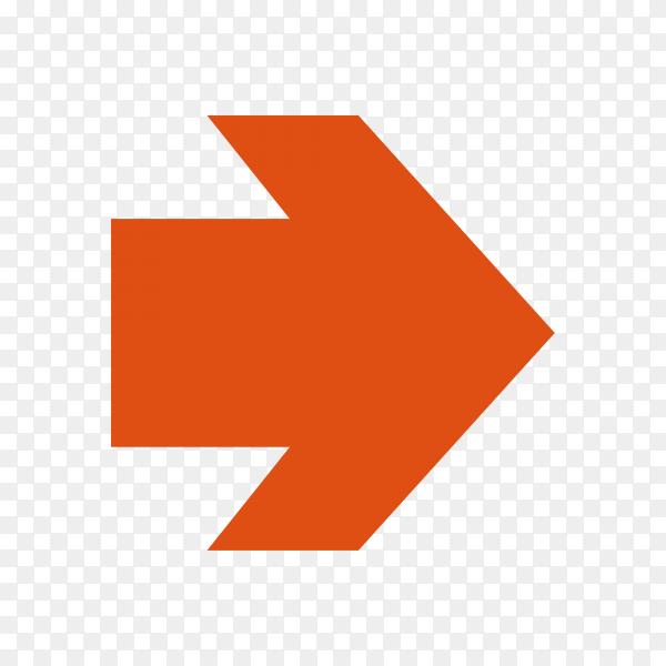 Infographic arrow premium vector PNG