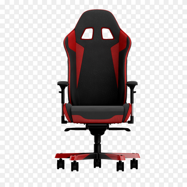 Office chair 3d isolated render on transparent background PNG