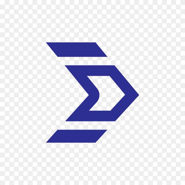 Isolated arrow, undo and previous button premium vector PNG