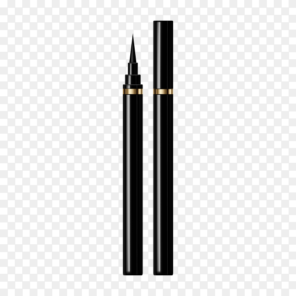 Modern eyeliner isolated on transparent background PNG