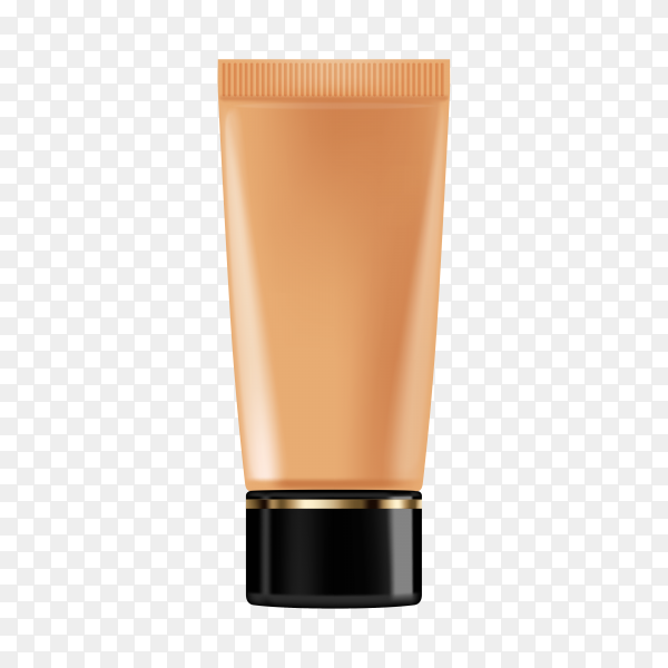 Skin care cosmetic bottle premium vector PNG