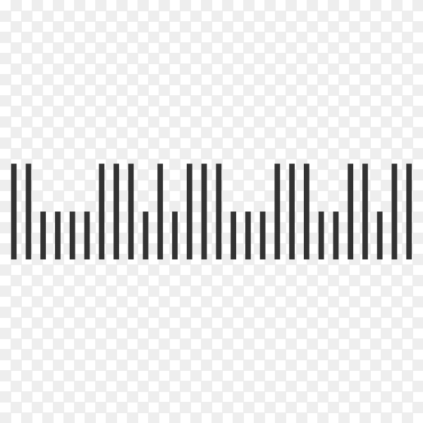 Barcode. Scan bar label, qr code and industrial barcode premium vector PNG