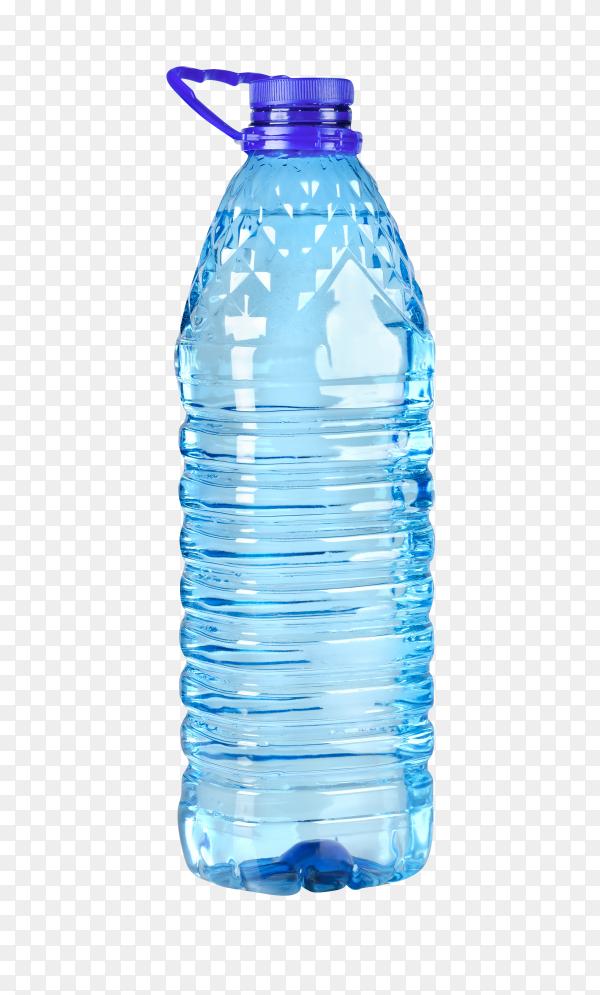 Big bottle of water on transparent background PNG